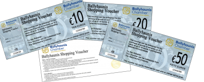 Ballyhaunis Shopping Vouchers